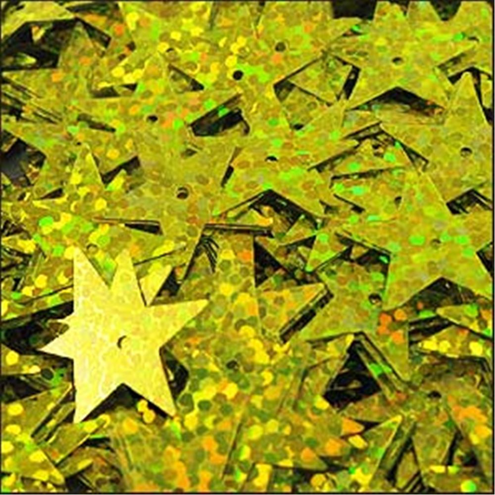 Hologram Sun-Shine Star Sequins. 15mm