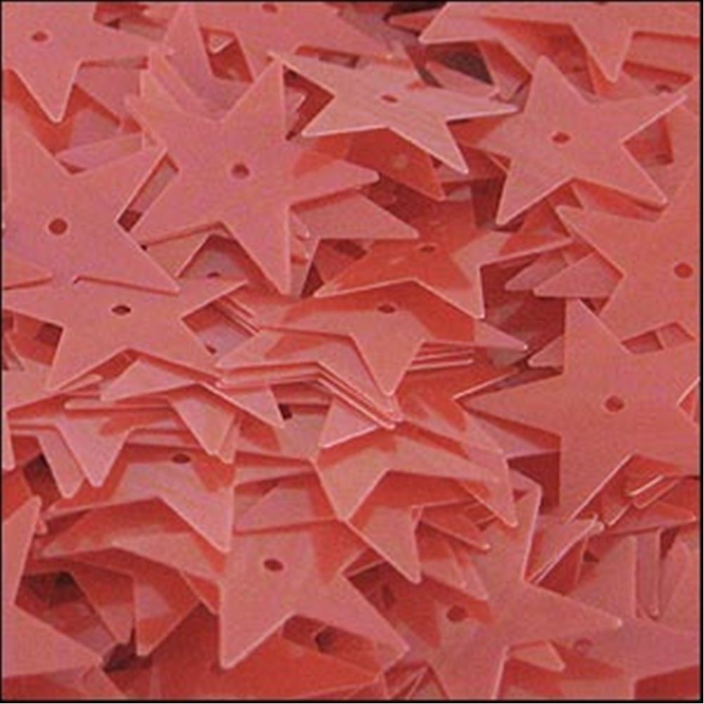 Glossy Lobster Star Sequins. 15mm