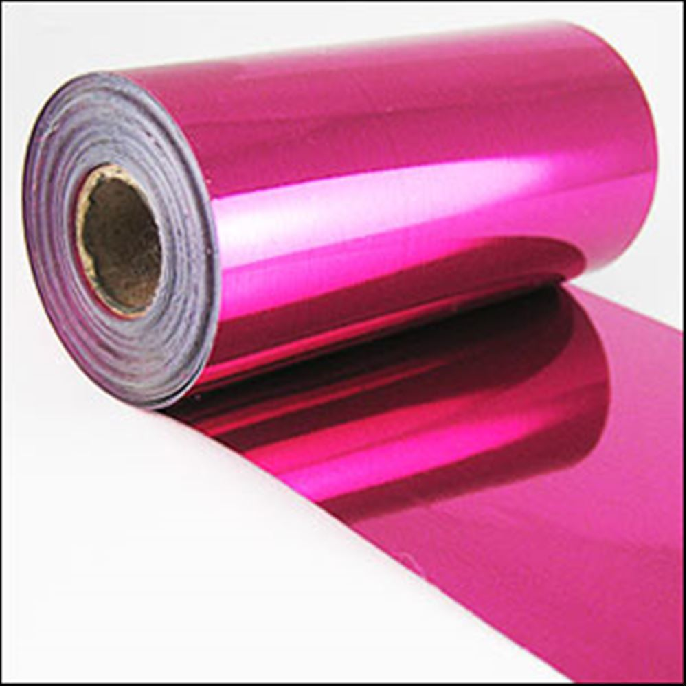 Fuchsia Metallic Sequin Film. 5m Roll