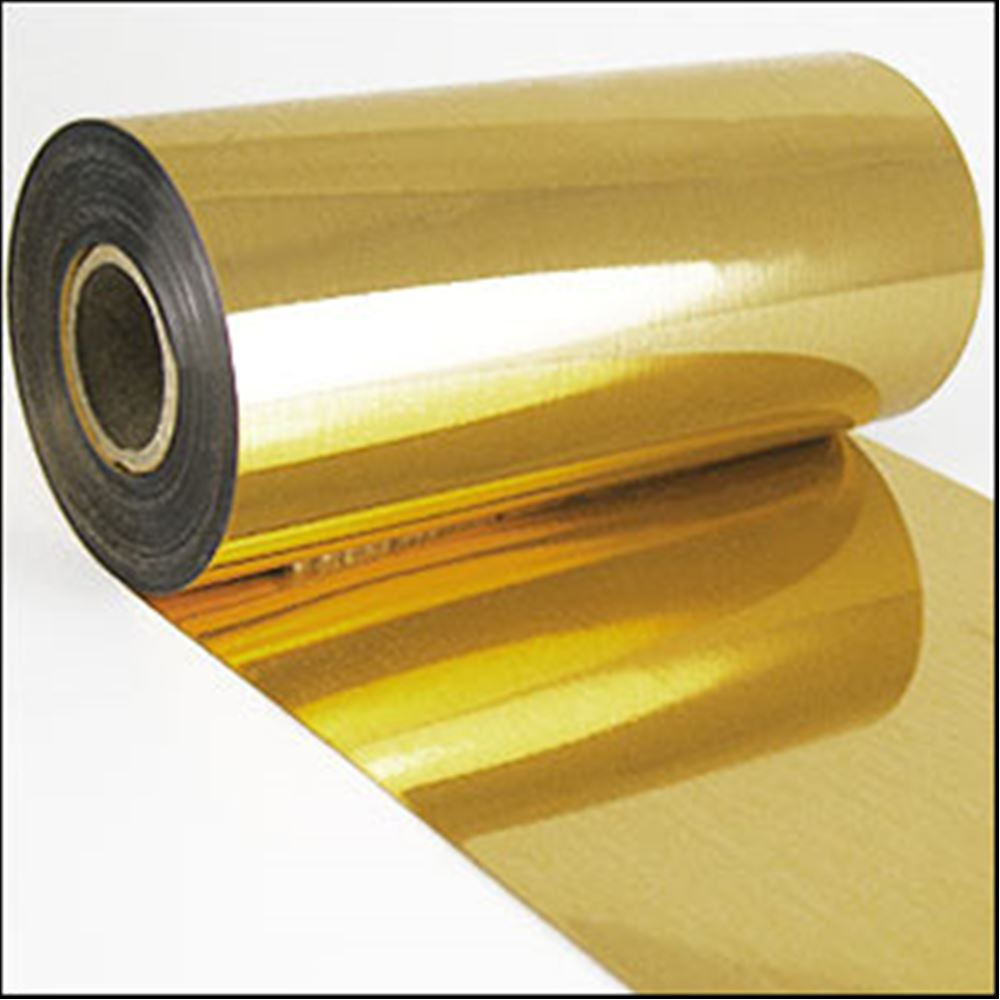 Gold Metallic Sequin Film. 5m Roll