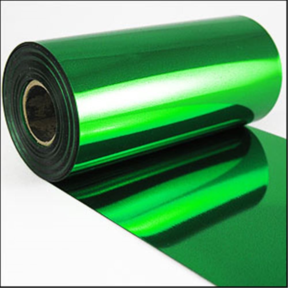 Emerald Metallic Sequin Film. 5m Roll