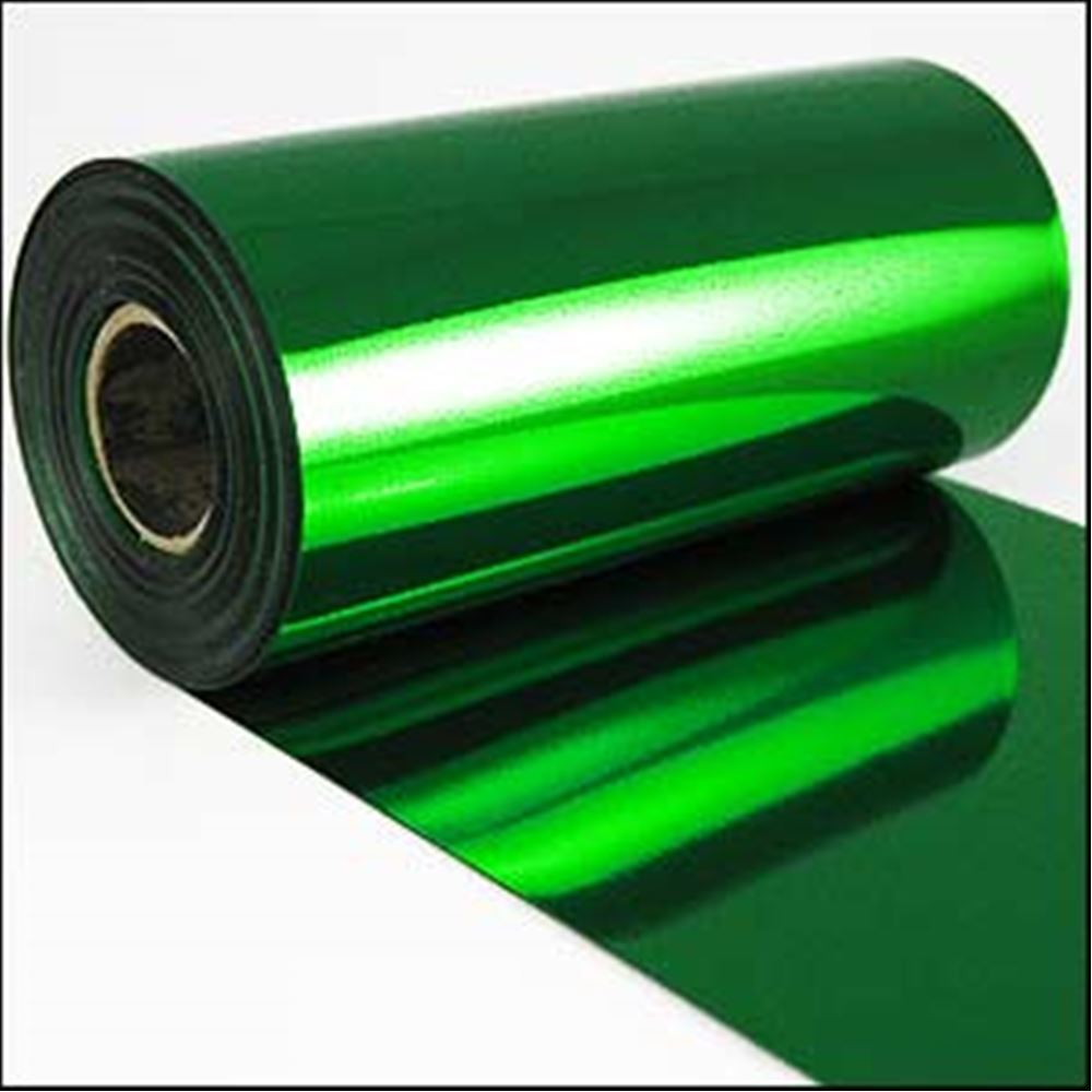 Bottle Green Metallic Sequin Film. 5m Roll