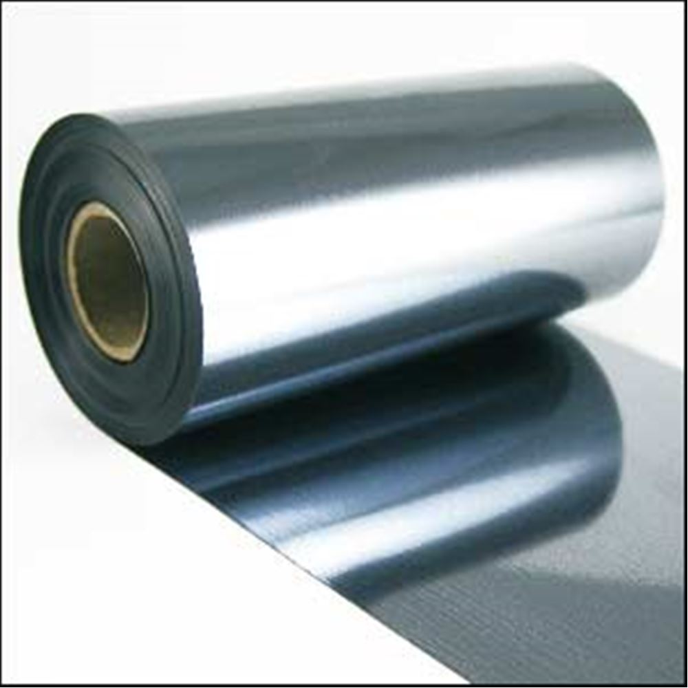Slate Blue Metallic Sequin Film. 5m Roll