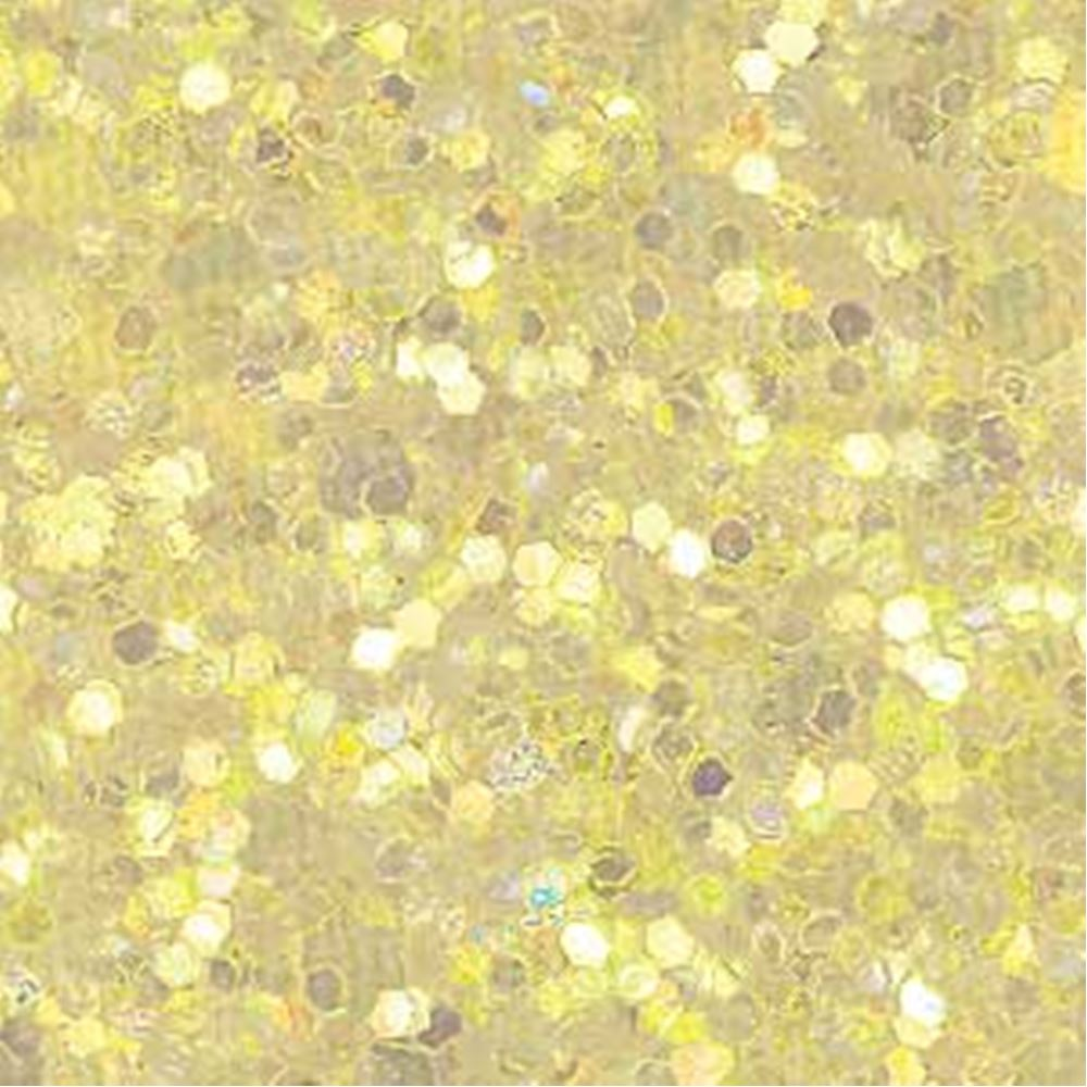 Lemon Glitter Fabric. 1 Metre