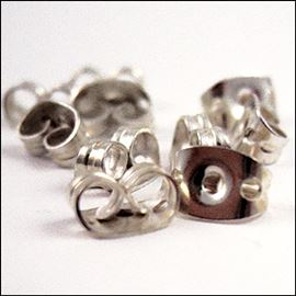 Metal Butterfly. 6mm - Pack Of 6 Pairs