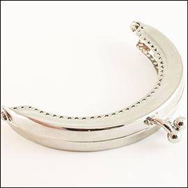 Purse Frame - Silver 68mm X 50mm