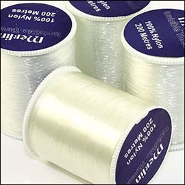 Invisible 'nylon Mono-Filament' Thread - Clear
